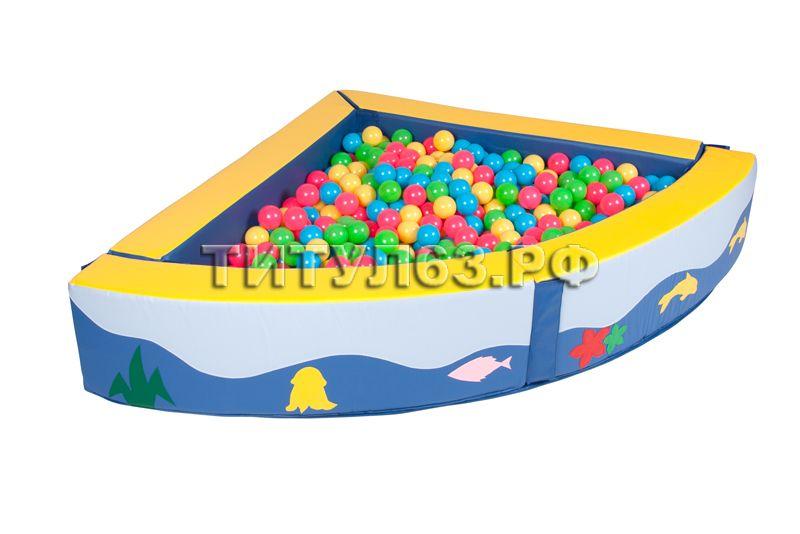 Как сделать сухой бассейн 498