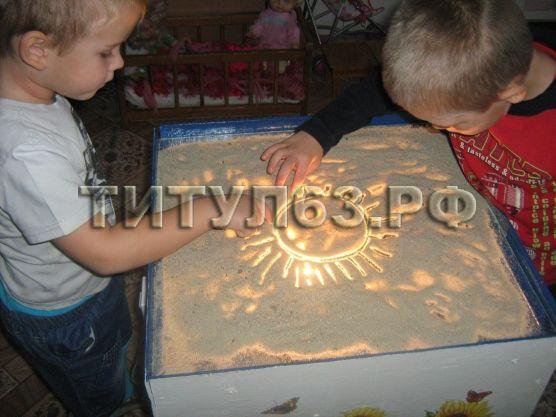 Световой стол для рисования песком фото