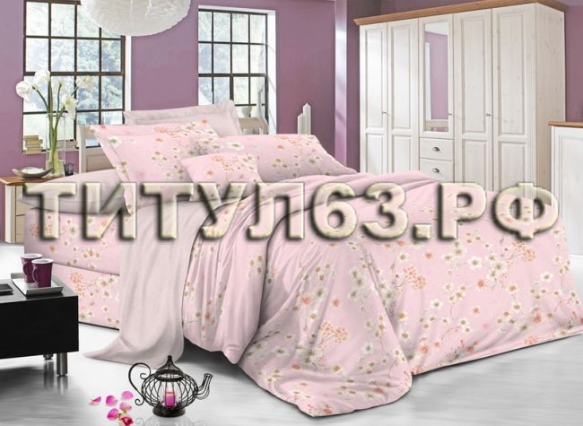 Комплект постельного белья 1,5 сп. Сатин