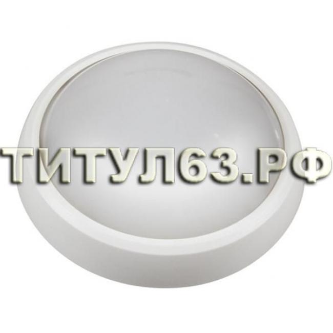 Светильник светодиодный PBH-PC-RA 12Вт круг белый 4000К 960Лм IP65 .1024626A Jazzway /10шт/