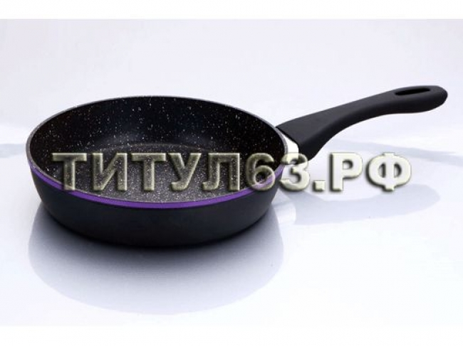 Сковорода кованный алюминий BK-3780 24см Red & blue BK-3780