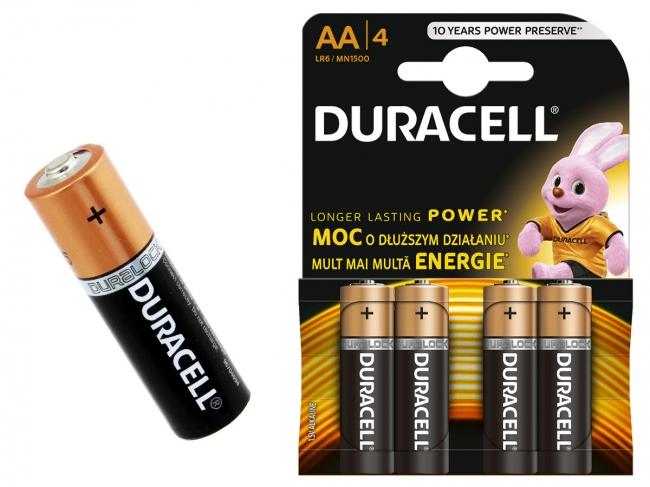 Батарейка DURACELL LR6 ( AA) алкалин. (блистер отрыв 2 шт)