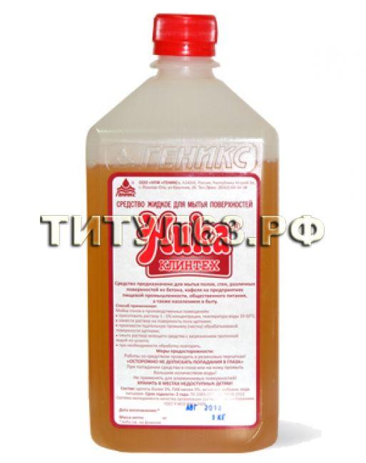 Средство жидкое для мытья поверхностей «НИКА-КЛИНТЕХ» 1 кг