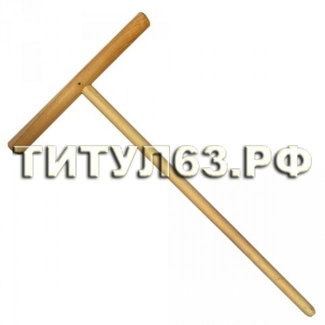 Швабра деревянная для мытья полов, 1,3м в/с