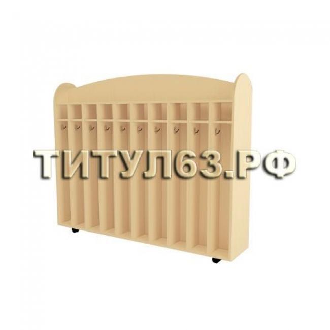 Шкаф для полотенец напольный двухсторонний Бук Бавария Светлый U9501