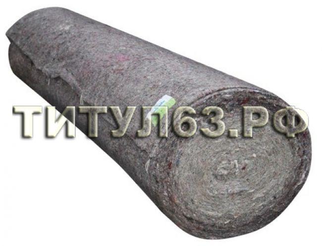 Холстопрошивное плотно 1,5*50 м (пл 160 гр/м) серое